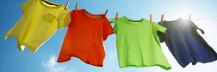塩で洗濯物の色落ち対策